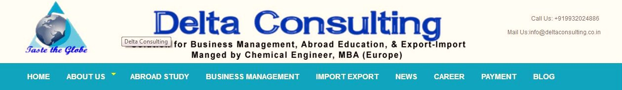 Delta Consulting- Deals on Business Management, Study Abroad and Export Import